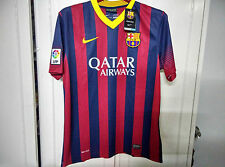 Nike Official 2013-14 Barcelona Home Soccer Jersey