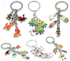 The smurfs shrek puss in boots character METAL keyring keychain US