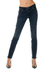 BURBERRY BRIT New Woman Dark Blue Stretch Denim Pants Jeans NWT