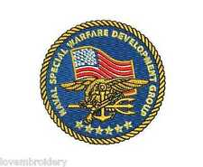 Naval Special Warfare DEVGRU Navy SEAL Team Eagle EMBROIDERED Polo Shirt