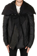 RICK OWENS DRKSHDW Man Padded NIQMU DUSTULATOR Jacket Made in Italy