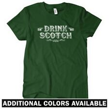 Drink Scotch Women's T-shirt S-2X - Vintage Alcohol Whisky Whiskey Scotland Gift