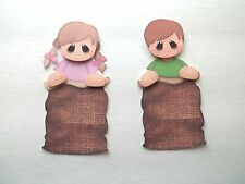 3D ~ U Pick - Boy Girl Sack Race Scrapbook Card Embellishment 1299