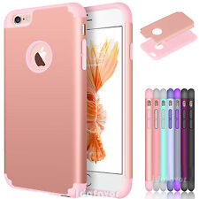 2016 Hybrid Shockproof Slim Rubber Protective Hard Case Cover for Apple iPhone 7