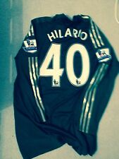 Chelsea Match Worn Player Hilario Issue Football Shirt Formotion Techfit