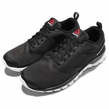 Reebok Sublite Authentic 4.0 Black White Mens Running Shoes Sneakers AR2598