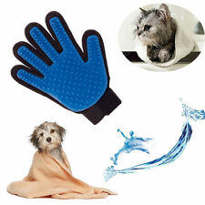 Magic Cleaning Bath Brush Glove Gentle Efficient Pet Massage Grooming Groomer RS