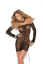 Diamond pattern bandeau dress w/open back & matching gloves! Queen or One Size