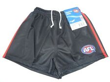 AFL ESSENDON BOMBERS KIDS FOOTY SHORTS - BRAND NEW