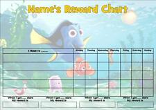 FINDING NEMO JOB/BEHAVIOR/REWARD/HOMEWORK CHART -FREE PEN & STICKERS