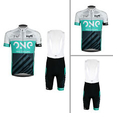 New Men's Cycling Tops Bottom Bicycle Jerseys Bib Shorts Cushion Padded Wear Hot