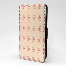 Block Pixels Cool Arty Design Pattern Flip Case Cover For Samsung - P518