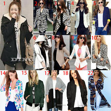 Autumn Winter Womens Long Sleeve Warm Jacket Coat Ladies Casual Cardigan Outwear