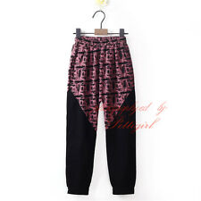 Boys Harem Pants Jogger Sportswear Baggy Slacks Kids Trousers Sweatpants