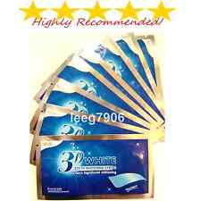 3D PRO TEETH WHITENING STRIPS PROFESSIONAL AUTHENTIC SAFE STRONG WHITESTRIPS