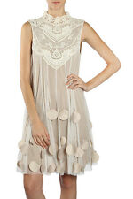 Modcloth Ryu Embellished Lace Crochet Romantic Vintage Dress Size S and M NWT