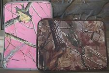 """Green or Pink Camoflauge RealTree Laptop Sleeve - Fits up to 15.6"""" laptops"""