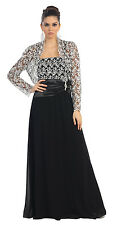 TheDressOutlet Long Mother of the Bride Dresses Plus Size Formal Gown