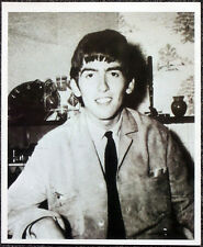 THE BEATLES POSTER PAGE - A YOUNG GEORGE HARRISON . F5