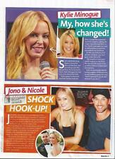KYLIE MINOGUE *September 2016*Australian Magazine Clipping Picture