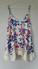 **LITTLE LIES** Ladies Size 8 Gorgeous Rayon & Lace Top MUST SEE***