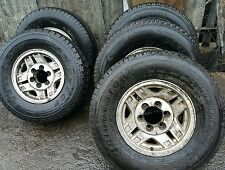 Toyota Hilux Surf alloy wheels with tyres