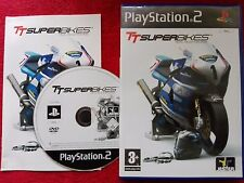 TT SUPERBIKES REAL ROAD RACING ORIGINAL BLACK LABEL SONY PLAYSTATION 2 PS2 PAL
