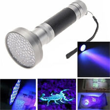 UV Ultra Violet 100 LED Flashlight Blacklight Scorpion Detection Laser Torch Lot