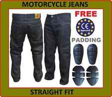 Mens Motorcycle Motorbike Jeans with Protective Lining