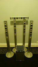 4 X METAL SONY SURROUND SOUND SPEAKERS SS-TS550 + Centre Bar Speaker + Subwoofer