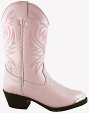 Smoky Mountain Boots Toddler Girls Mesquite Pink Faux Leather Western