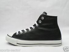 Converse CT AS Hi All Star Chuck Taylor Mens Fur Trainers Shoes Leather Black