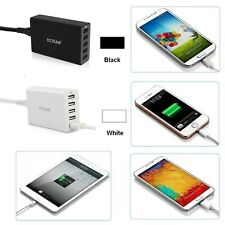 YCCTEAM 2  4 5 USB  PORT Wall Charger Travel Adapter  US  For iPhone 7 Android