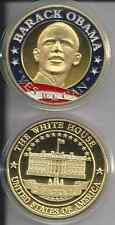 President Barack Obama~Yes We Can~ 24Kt Gold Plated Challenge Coin