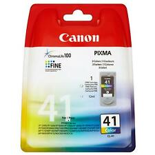 ORIGINAL CANON PIXMA CL-41 COLOUR PRINTER INK CARTRIDGE 12ML CL41 / 0617B001