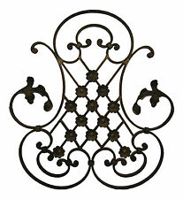 Decorative Wrought Iron Metal Wall Art Wall Hanging - Signature 6183