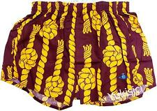 Vivienne Westwood Man Japan Rope w/Orb Embroidered Underwear Boxer-M/L-Burgundy