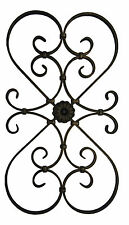 Decorative Wrought Iron Metal Wall Art Wall Hanging - Signature 6117