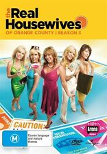 NEW The Real Housewives of Orange County: Season 3 - DVD Region 4