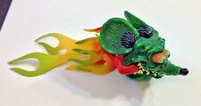 RAT FINK Antenna Topper  Mooneyes  2003 Ed Roth Hot Rod Kool Flames