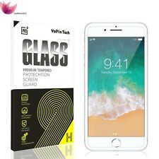 "New Retail Box 9H+ Tempered Glass Screen Protector for iPhone 7 Plus [5.5""] Lot"