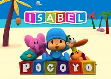 Pocoyo Personalised Placemat (A4 Size Photo Laminate) great gift