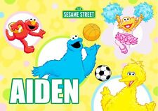 Sesame Street Personalised Placemat (A4 Size Photo Laminate) great gift