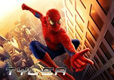 Spiderman Personalised Placemat (A4 Size Photo Laminate) great gift