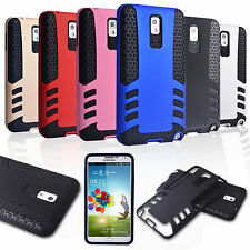 Hybrid Slim Rugged Rubber Shockproof Impact Armor Case Cover For Samsung Note 3