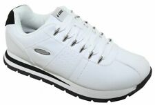 Lugz Men's Run Classic Fashion Sneakers White Black 135