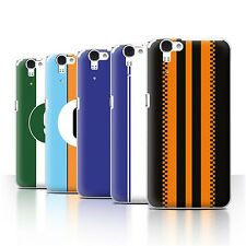 Phone Case/Back Cover for Sharp Aquos Zeta SH-01F/Docomo /Racing Car Stripes