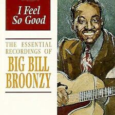 Big Bill Broonzy - I Feel So Good (CD, Jul-1997, Indigo) MINT condition!