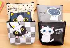 New Cat Zip Coin Purse childrens 4 designs party bags GS549e