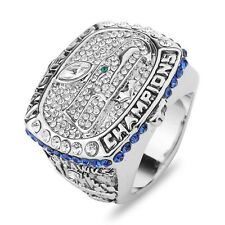 Men Seattle Seahawks Football Super Bowl Championship Ring man Crystal Classic S